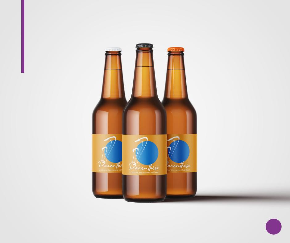 Création originale pour une bière du Sud-Ouest